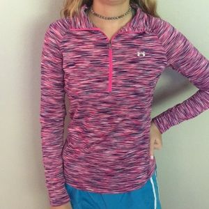 Tops - Under Armour size S Space dye 1/4 zip